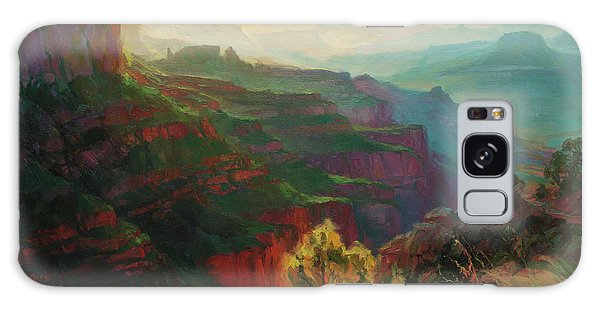 Grand Canyon Galaxy S8 Case - Canyon Silhouettes by Steve Henderson