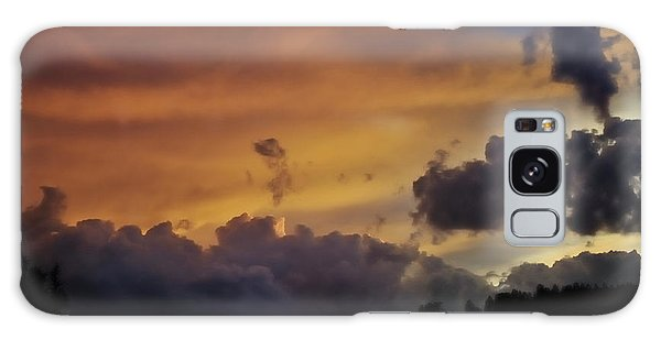 Canyon Sunset Galaxy Case