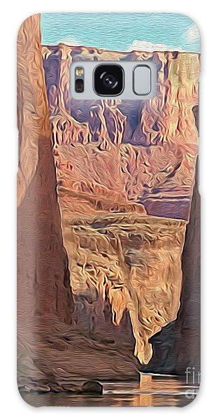 Canyon Walls Galaxy Case by Walter Colvin