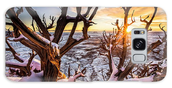 Canyonlands Winter Sunset Galaxy Case