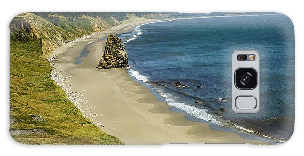 Cape Blanco On The Oregon Coast By Michael Tidwell Galaxy Case