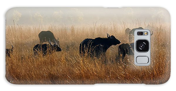 Cape Buffalo Herd Galaxy Case by Joe Bonita