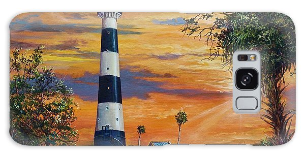 Cape Canaveral Light Galaxy Case