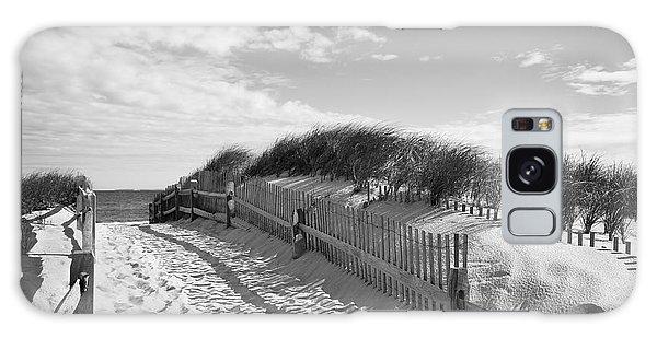 Cape Cod Beach Entry Galaxy Case by Mircea Costina Photography