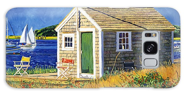 Cape Cod Boat House Galaxy Case