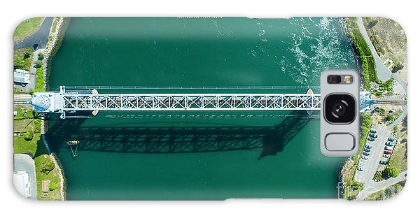 Cape Cod Canal Railroad Bridge Galaxy Case