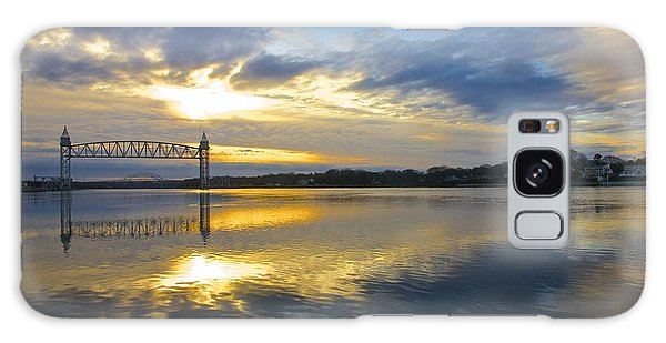 Cape Cod Canal Sunrise Galaxy Case by Amazing Jules
