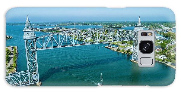 Cape Cod Canal Suspension Bridge Galaxy Case