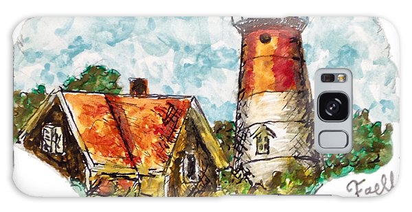 Cape Cod Lighthouse Galaxy Case
