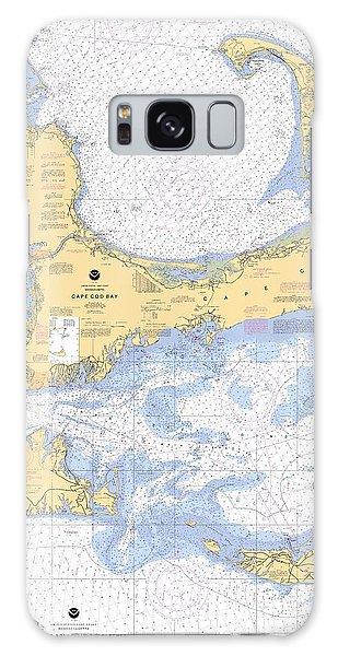 Cape Cod, Martha's Vineyard And Nantucket Nautical Chart Galaxy Case