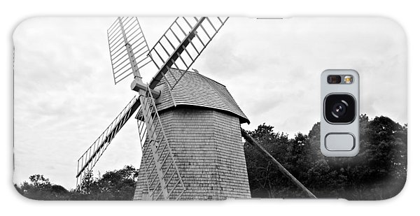 Cape Cod - Old Higgins Farm Windmill Galaxy Case