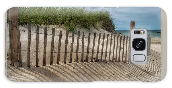 Galaxy Case featuring the photograph Cape Cod Sand Dunes by Expressive Landscapes Fine Art Photography by Thom
