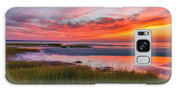 Cape Cod Skaket Beach Sunset Galaxy Case
