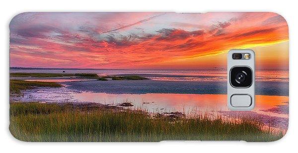 Cape Cod Skaket Beach Sunset Galaxy Case