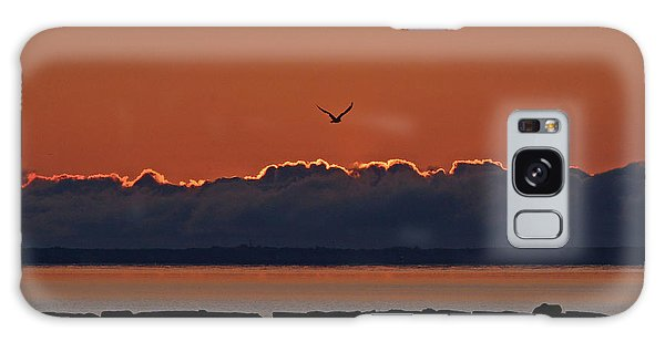 Galaxy Case featuring the photograph Cape Cod Sunrise #2 by Ken Stampfer