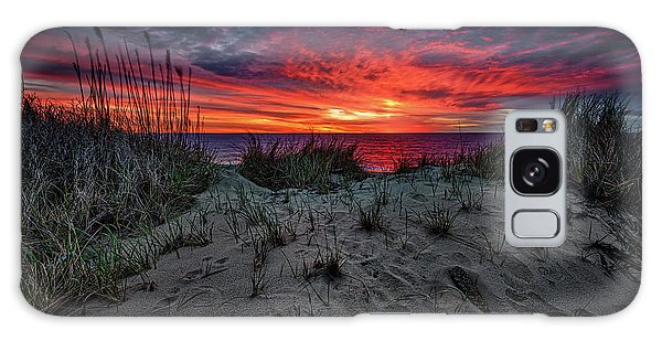Cape Cod Sunrise Galaxy Case