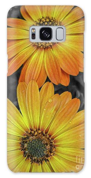 Cape Daisy's - Orange Galaxy Case