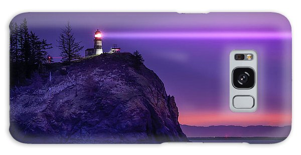 Cape Disappointment Light Galaxy Case