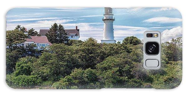Cape Elizabeth Lighthouse Galaxy Case