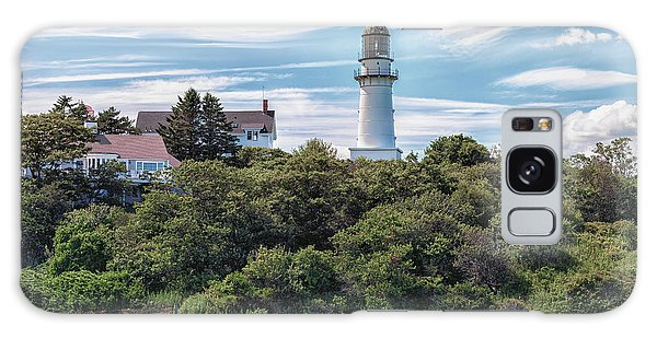 Cape Elizabeth Lighthouse Galaxy Case