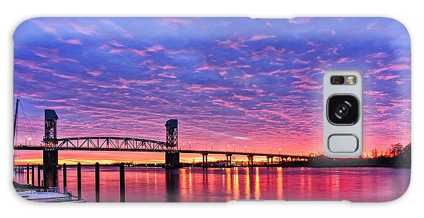 Cape Fear Bridge1 Galaxy Case