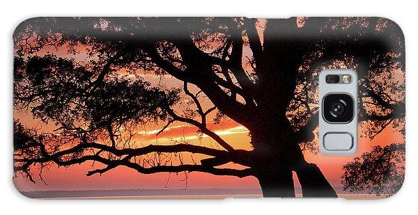 Cape Fear Sunset Overlook Galaxy Case