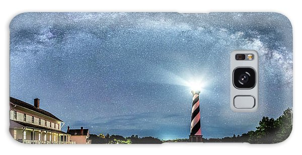 Cape Hatteras Light House Milky Way Panoramic Galaxy Case