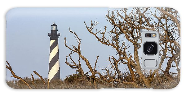 Cape Hatteras Lighthouse Through The Brush Galaxy Case