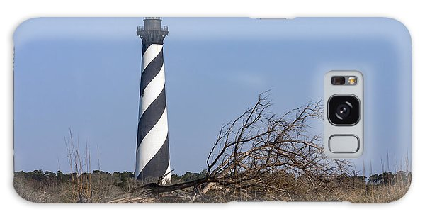 Cape Hatteras Lighthouse With Driftwood Galaxy Case