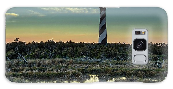 Galaxy Case featuring the photograph Cape Hatteras Sunset by Donald Brown