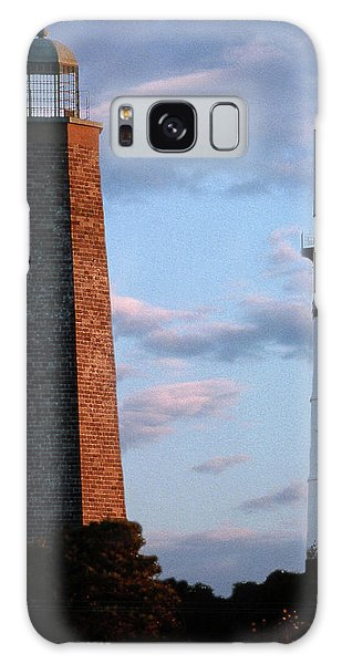Cape Henry Lighthouses In Virginia Galaxy Case