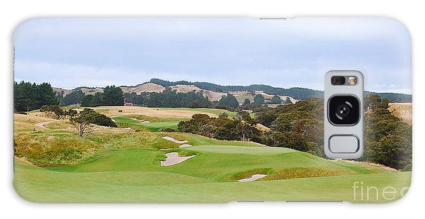 Cape Kidnappers  1 Golf Course New Zealand  Galaxy Case by Jan Daniels