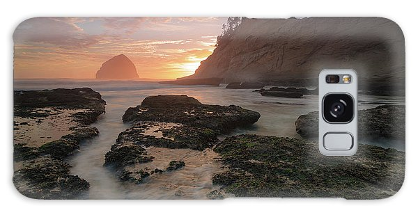 Cape Kiwanda At Sunset Galaxy Case