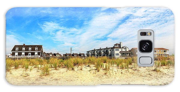 Cape May Beach House Colors Galaxy Case