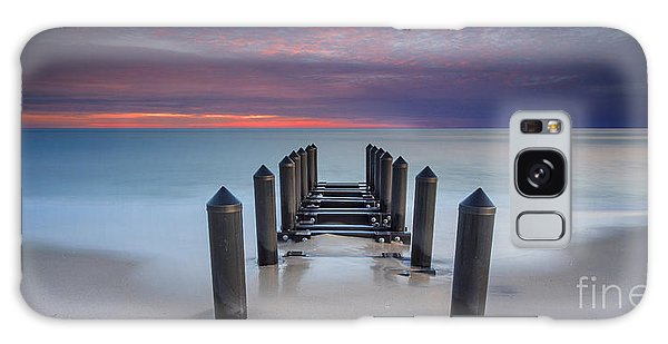 Cape May Galaxy Case - Cape May Beach by Marco Crupi