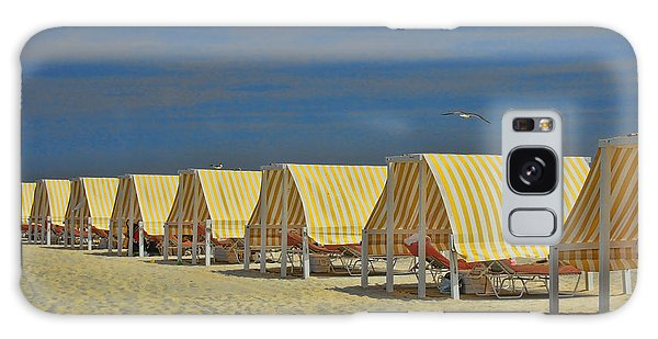 Cape May Cabanas 6 Galaxy Case