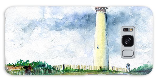 Cape May Lighthouse Galaxy Case by John D Benson