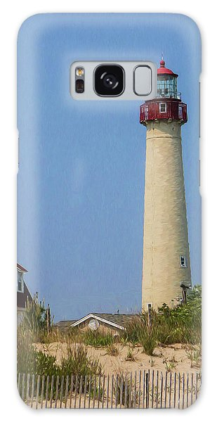 Cape May Lighthouse Vertical Galaxy Case
