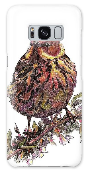 Cape May Warbler Galaxy Case
