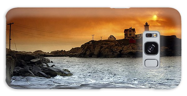 Cape Neddick Lighthouse, Maine, Usa Galaxy Case
