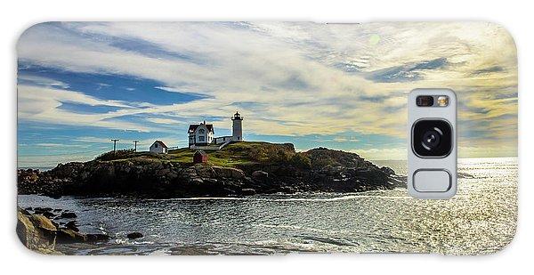 Cape Neddick Lighthouse Galaxy Case