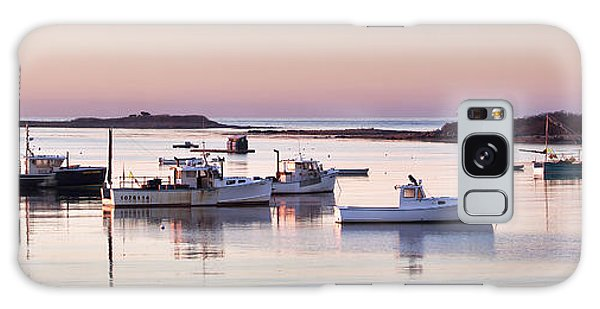 Cape Porpoise Harbor Panorama Galaxy Case