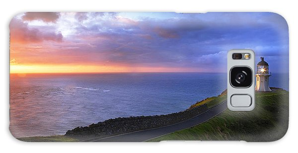 Cape Reinga Lighthouse Galaxy Case