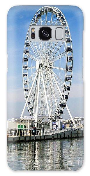 Capital Ferris Wheel Galaxy Case