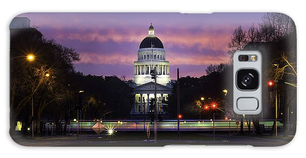 Capital Sunrise Galaxy Case