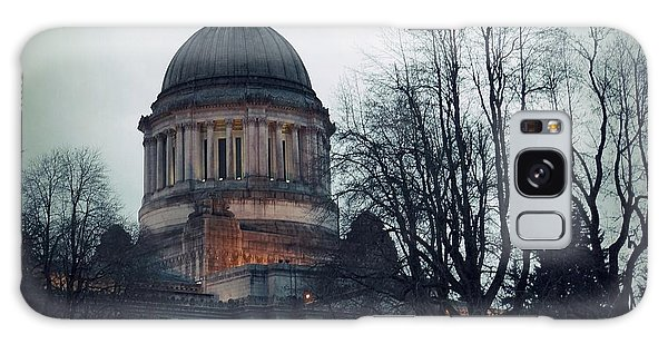 Capitol Aglow Galaxy Case by Patricia Strand