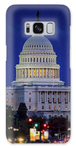 Capitol At Dusk Galaxy Case