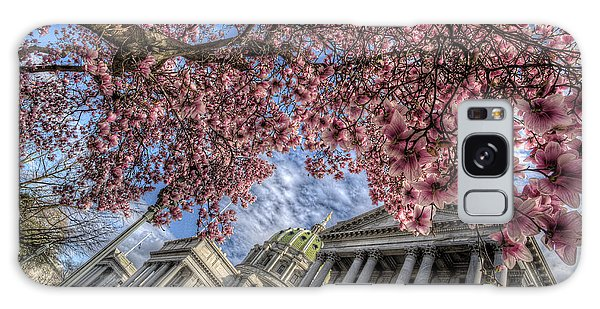 Capitol Blossoms Galaxy Case