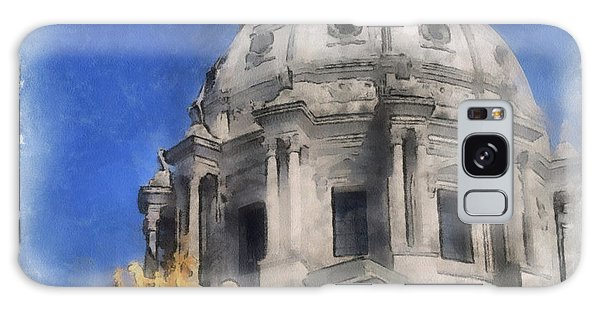 Capitol Dome St Paul Minnesota Galaxy Case