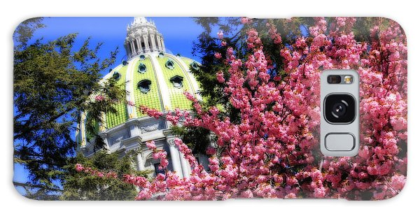 Capitol In Bloom Galaxy Case